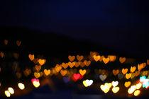 Love heart bokeh von Dan Davidson