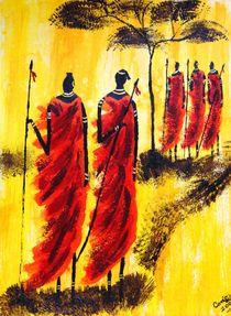 Krieger Afrika von Corinna Schmidt