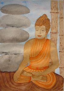 Gautama Buddha im Moment der Erleuchtung by Ulrike Kröll