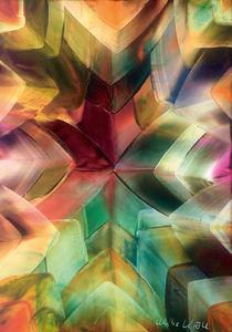 Leuchtende Kristalle by Ulrike Kröll
