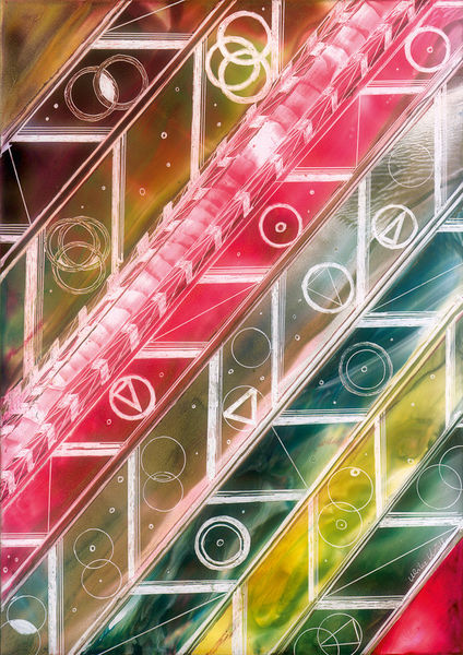 Lichtblicke-durch-farbige-formen