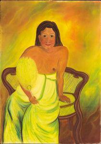 Südseeinsulanerin – nach Paul Gauguin von Ulrike Kröll