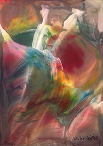 Tanzendes Paar in Seidentüchern  von Ulrike Kröll