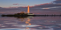 Lighthouse Reflection von David Pringle
