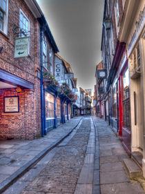 Shambles York by Allan Briggs