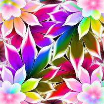 abstract flowers  by Aleksey Odintsov