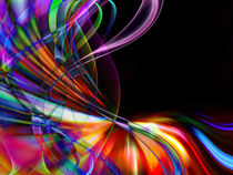 abstract colorful wavy design von Aleksey Odintsov