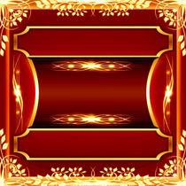 luxury ornate golden design by Aleksey Odintsov