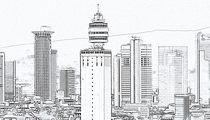 Frankfurt Henninger Turm von Thomas Brandt