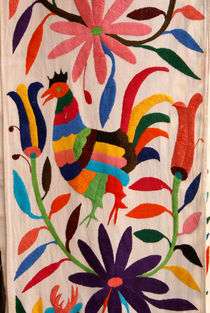 OTOMI EMBROIDERY Mexico by John Mitchell