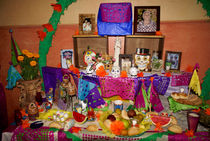 DAY OF THE DEAD ALTAR Mexico von John Mitchell