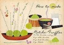 How to make Matcha Truffles von Elisandra Sevenstar