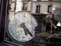 Old parisian clock by gerardchic