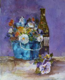 Pinot and Pansy von Kathleen Harrington