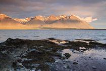 Mitternachtssonne auf Island by Anne-Barbara Bernhard