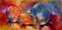 Leuchtende Farbkugeln von Ulrike Kröll