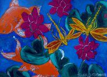 Dragonflys by julie butterworth