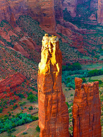 Last Sun on Spider Rock von Peter Tomsu