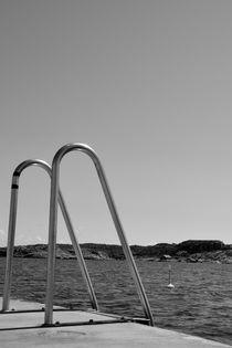 Swimmingledder by Peter Steinhagen