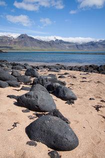 Island-- Sneffelsness by Anne-Barbara Bernhard