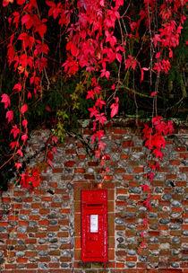 Autumn post box by camera-rustica