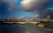 London  Skyline Waterloo  Bridge  von David J French