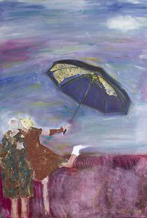 Kissing in the rain. by Mehlika Tanriverdi