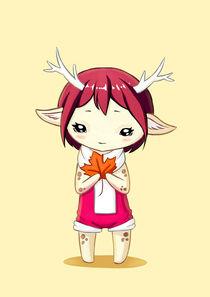 Deer Girl von freeminds