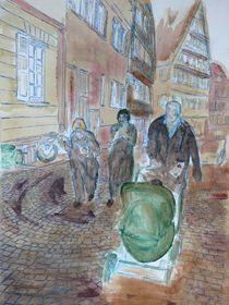 strawling through Tübingen... by Mehlika Tanriverdi