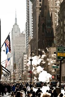 NYC Street Scene IV von Marcus Kaspar