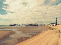 Blackpool Beach by Sarah Couzens
