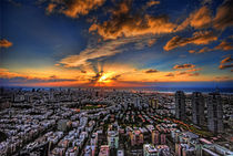Tel Aviv sunset time von Ron Shoshani