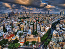 Tel Aviv lookout by Ron Shoshani