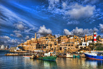 the old Jaffa port von Ron Shoshani