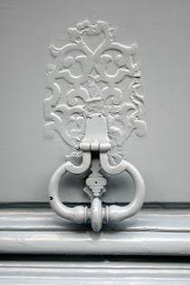 Marteau de porte parisien gris by gerardchic
