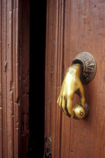 HAND DOOR KNOCKER  MEXICO by John Mitchell