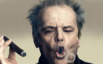 Smoking Baby by Felipe  Mendoza