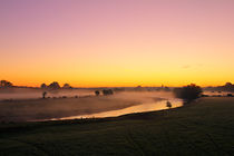 Herbstmorgen II von Michaela Rau
