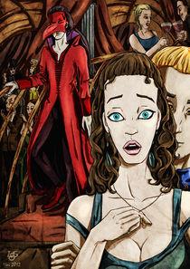 Maskenball. Die Maske des roten Todes. von Asta Legios