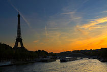 Parisian Sunset by Louise Heusinkveld