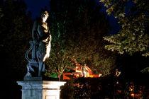 Lichtstatue von Florian Beyer