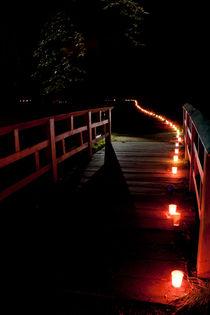 Lichtbrücke von Florian Beyer