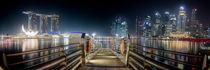 Singapur Skyline von spotcatch-net-photography