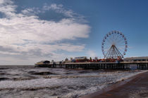 Central Pier Blackpool by Sarah Couzens