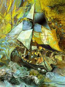 Lebensschiff mit großer Fracht von artesigno