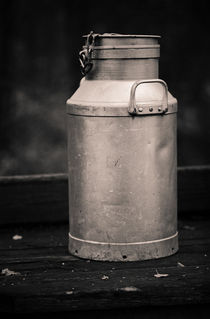 Milk churn by Lars Hallstrom