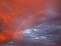 Sunset Rainbow von Christi Ann Kuhner