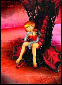 red throne warrior by ladygeneziz