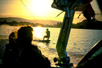 Wakeboard Abend by Marc Seeh