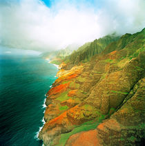 Cloudy Na Pali by Peter Tomsu